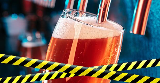 Alkoholserveringsförbudet förlängs ytterligare