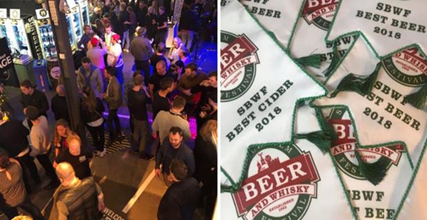 Andra helgen på Beer & Whisky Festival startar idag