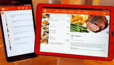 Digitala mat- och drinkmenyer