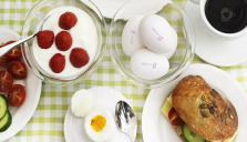 Hälsoboosta med ägg i påsk