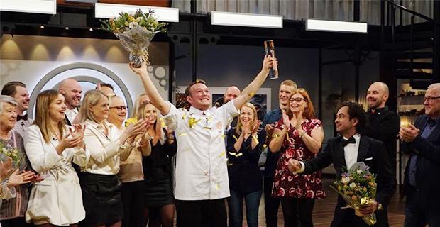 Han  är vinnare av Sveriges Mästerkock 2019
