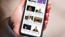 Kända kockar och eventarrangör svarar på frågor i app