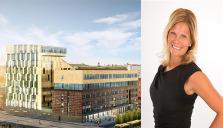 Malin Selberg  hotelldirektör på Elites stora satsning i Uppsala
