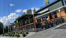 McDonald's öppnar ny restaurang i  Örnsköldsvik