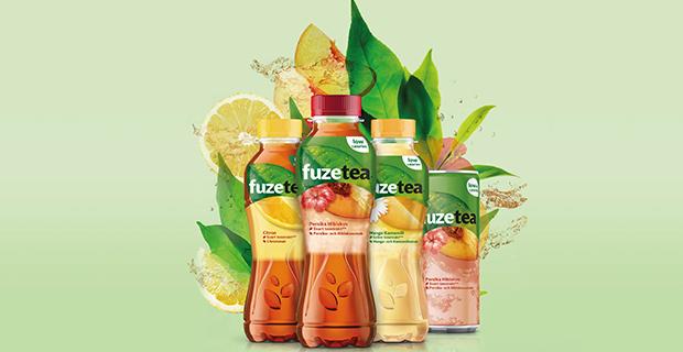Nyhet från Coca-Cola: en mix av te, fruktjuice och örter