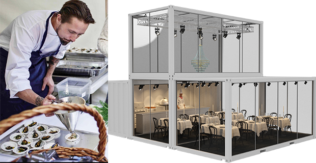 Pop-up restaurang  med Årets kock- vinnare under Åre Gastronomy Week