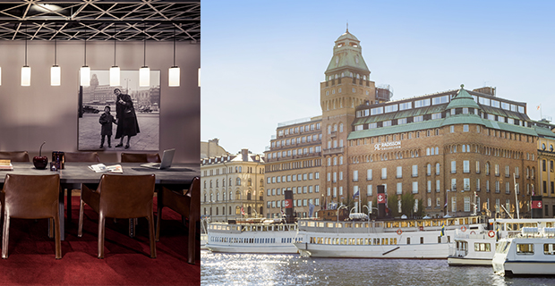Radisson Collection Strand Hotel och Stockholms internationella filmfestival arrangerar fotoutställning.
