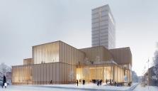 Snart invigs The Wood hotel - 20 våningar byggt i trä