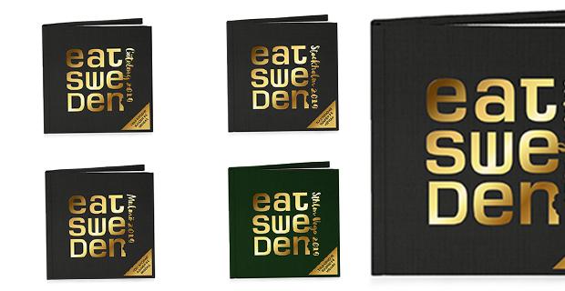 Snart släpps årets upplaga av EATSweden-böckerna