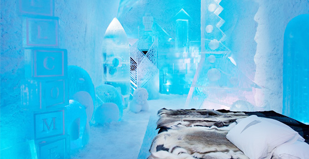 Succé för Icehotels livestreaming