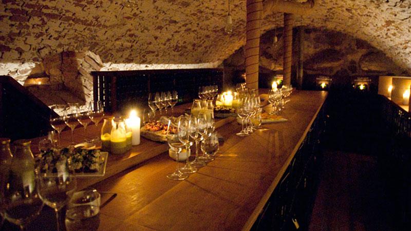 Ulfsunda slott lockar med spa och champagne