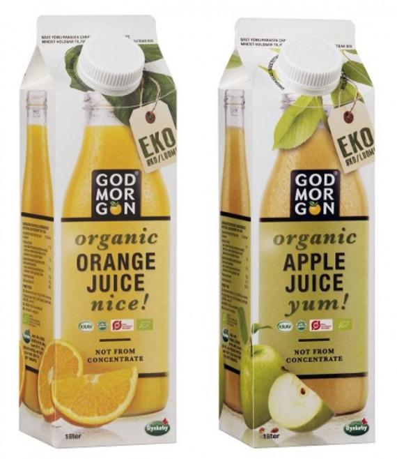 Link to Godmorgon lanserar ekologiska juicer