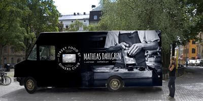 "Link to ""Street food by Diners Club"" med Mathias Dahlgren till Stockholm"