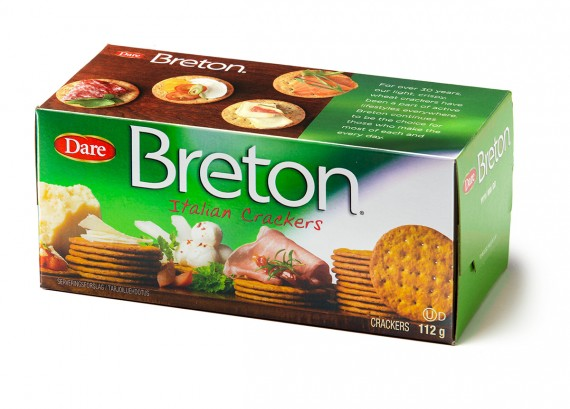 Link to Breton lanserar nya smaken Italian Crackers