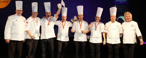 Link to Guld i storköksklassen för Fazer Culinary Team