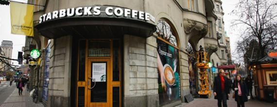 Link to Starbucks öppnar på tre platser i centrala Stockholm