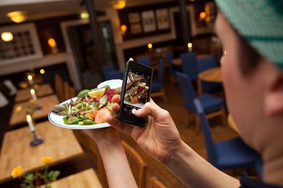 Sociala medier lyfter restaurang